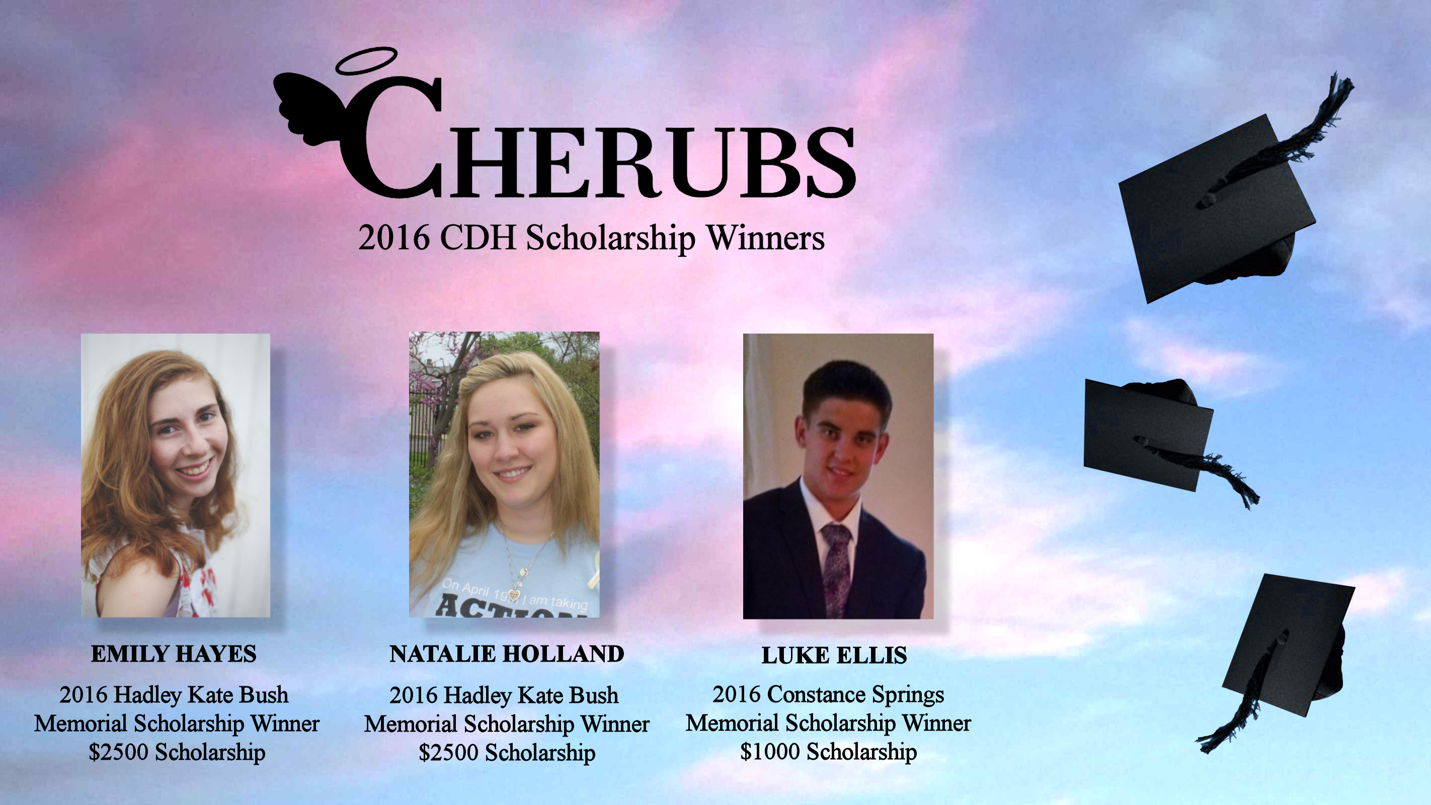 2016 CDH Scholarship Winners