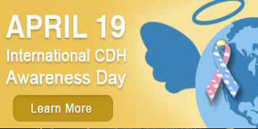 April 19 is Congenital Diaphragmatic Hernia Awareness Day