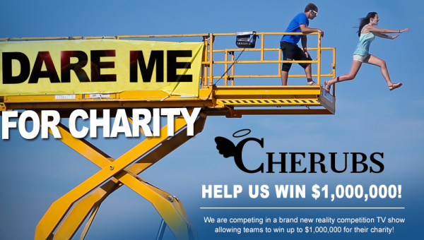 Dare Me For Charity - CDH Charity CHERUBS