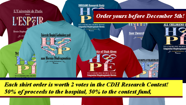 CDH Research Shirts available for the holidays!