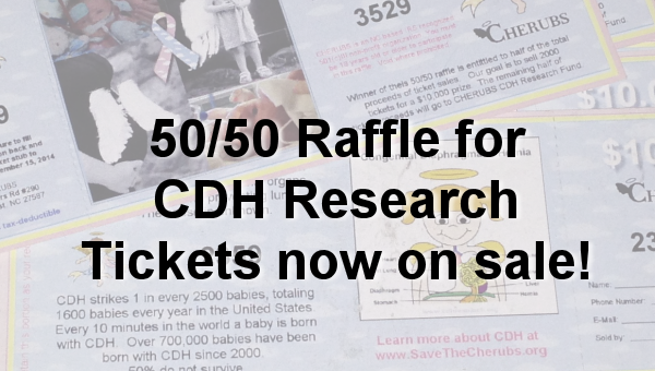 50/50 Raffle for CDH Research
